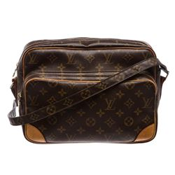 Louis Vuitton Monogram Canvas Leather Nile GM Shoulder Bag