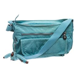 Kipling Blue Nylon Crossbody Messenger Bag