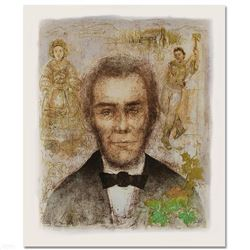 Abraham Lincoln by Hibel (1917-2014)