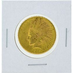 1914-D $10 Indian Head Gold Coin CU