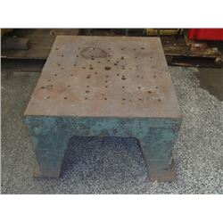 "Heavy Duty Cast Iron Stand, Overall: 33"" x 29"" x 17"""
