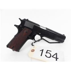 RESTRICTED. Rare Colt Civilian M1911