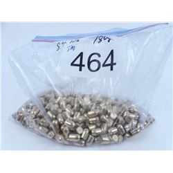 .40 Cal plated 180 grain bullets