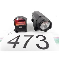 NC Star light + NC Star reflex red dot sight