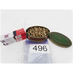 1 full tin Remington 175th Anniversary 22 LR + 100 rnds Win. Super X 22 LR +80 rnds Federal 22 LR