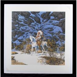 Bev Doolittle Signed Eagle Heart Print
