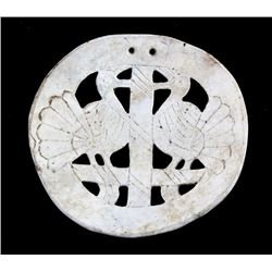 South Appalachian Mississippian Carved Gorget