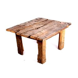 Montana Rustic Reclaimed Timber Coffee Table