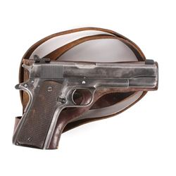 Colt Government 1911 .45 ACP Pistol w/Holster 1950