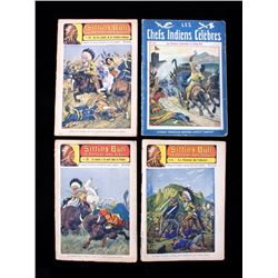 Antique French Sitting Bull Indian Dime Novels