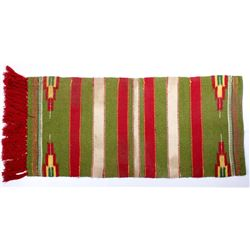Mid-Century Double Saddle Blanket, Mexican