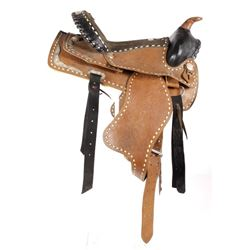 Western Ceremonial Parade Saddle by Eagle Original