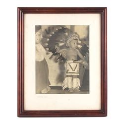 Original Native American Indian Photograph