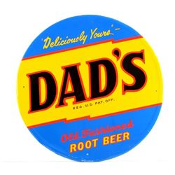 Dad's Root Beer Advertising Sign