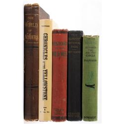 Collection Of Early American West Books