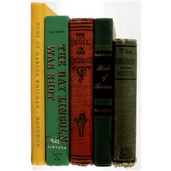 Eclectic Collection Of First/ Early Editions