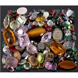 Various Precious & Semi-Precious Faceted Gemstones