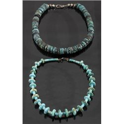 Cripple Creek & Kingman Turquoise Bead Necklaces