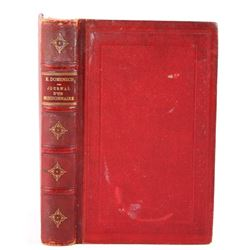 """Very Rare French Book, """"Journal D'un Missionaire"""""""