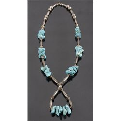 Navajo Cripple Creek Turquoise Necklace