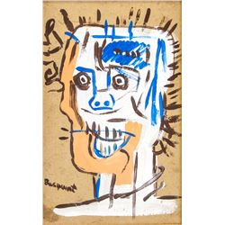 Attr Jean-Michel Basquiat 1960-1988 Mixed Media