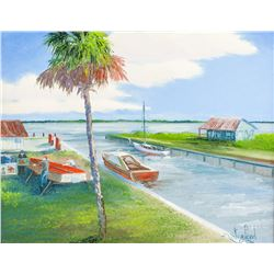 Marc Stanford (America) Florida Framed Painting