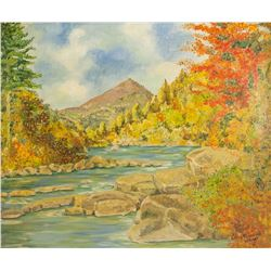 Clara M. OOC Rapids and Laurentians Mountains 1964