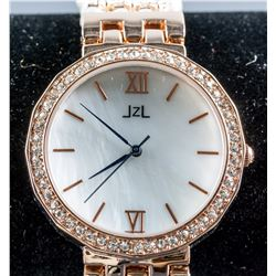 JZL Freshwater Pearl Crystal Watch