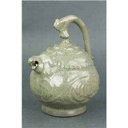 Chinese Song/Yuan Style Porcelain Inverted Ewer