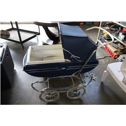 VINTAGE BABY PRAM CARRIAGE BY GENDRON