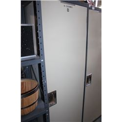 LARGE ONE DOOR METAL LOCKER