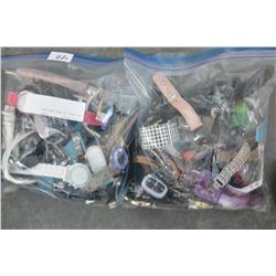 TWO BAGS OF MISC WATCHES