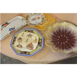 LOT OF CHINA DISHES AND PLATES