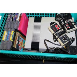 NES CONSOLE GAMES AND CONTROLLERS