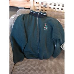 FIRST NATIONS WEST COAST TRAIL SOCIETY EMBROIDERED GUARDIANS FLEECE JACKET