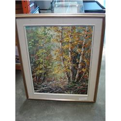ORIGINAL PAINTING BY OTTO JEGODTKA CALLED AUTUMN LIGHT
