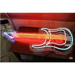 NEON GUITAR SOUND AND VOICE ACTIVATED LIGHTS
