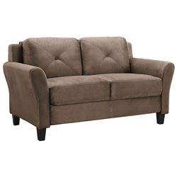 NEW WEST HAMPTOM HARTFORD BROWN LOVESEAT