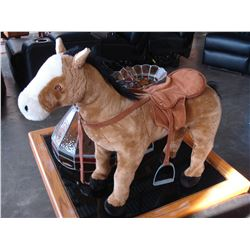 SIT ON HORSE TOY