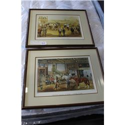 PAIR OF COURIER AND IVES PRINTS
