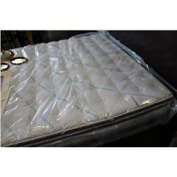 NEW FLOOR MODEL QUEENSIZE SERTA EUROTOP FIRM MATTRESS RETAIL $1899