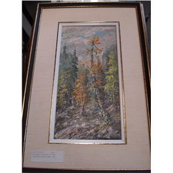 ORIGINAL PAINTING BY OTTO JEGODTKA CALLED EARLY FALL