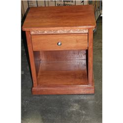 FUSION WOODWORKS ONE DRAWER NIGHTSTAND