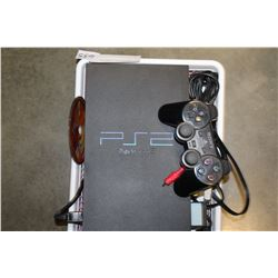 PS2 CONSOLE WITH CONTROLLER