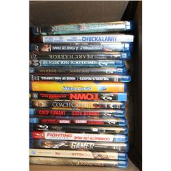 BOX OF BLURAYS