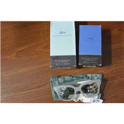 OLIVER PEOPLES SUNGLASSES AND NEW COLOGNE