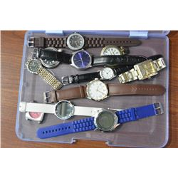 CONTAINER OF ESTATE WATCHES