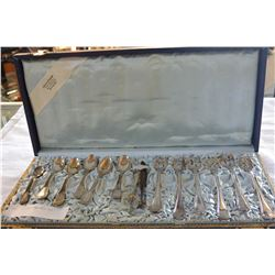 CASED SILVER LUNCHEON SET