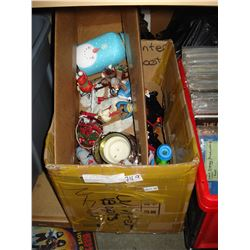 TWO BOXES OF TOYS AND COLLECTIBLES