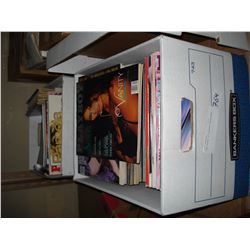 TWO BOXES OF PLAYBOY MAGAZINES